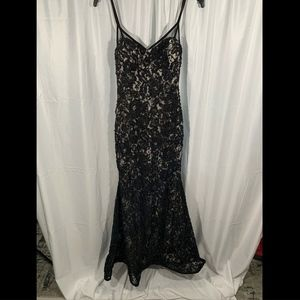 Xscape Dresses - NEW Xscape Lace Embroidered Slipdress Gown